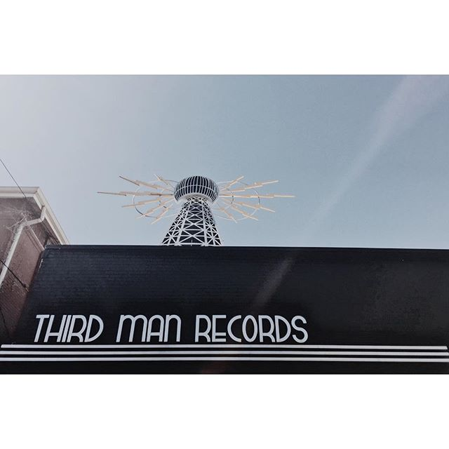 The Promise Land @thirdmanrecords #jackwhiteherewecome #catbeachroadtrip #songwritersweek #nashvillemusic