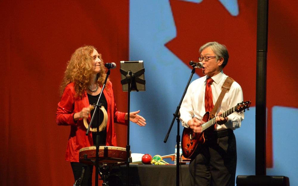 Canada 150 Celebration at Gravenhurst Opera House on May 30