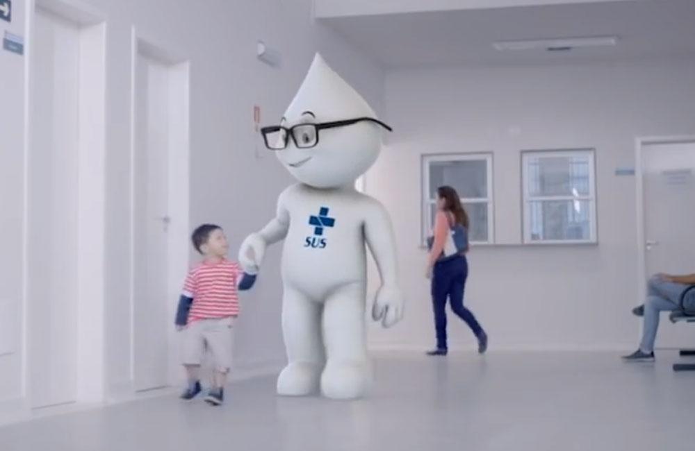 Ministério da Saúde -Zé Gotinha