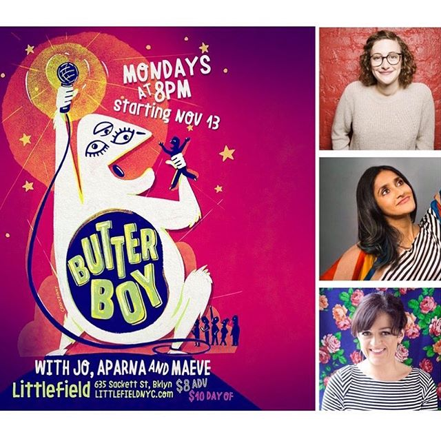 Big news! Night Train at Littlefield is ending on November 6 (our 5-year anniversary) and a new weekly show will be taking it's place on November 13! Please help us in welcoming Butterboy with hosts @yoyofirestone, @aparnapkin & @maeveinamerica! @dondub will be there each week spinning the tunes and (of course) producer @mways will continue to make magic behind the scenes. Visit butterboy comedy.com for all of your @butterboycomedy needs!  Tickets to all remaining Night Trains are avail at littlefieldnyc.com.  #nighttrainshow #brooklyn #comedy #butterboycomedy