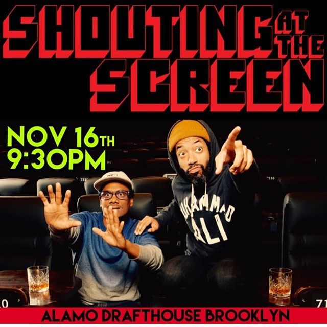 If you're already missing Night Train, we've got good news for you! Wyatt and Donwill can still be found hanging out and making comedy together once a month at @shoutingatthescreen! Next screening is tomorrow night at @alamonyc. Come hang with us!  #Repost @shoutingatthescreen ・・・ Shouting at the Screen is back tomorrow night with your hosts @wyattcenac & @dondub + a special guest shouter! Grab a friend, grab some tickets, grab some drinks and have a hell of a night! | Ticket link in bio #shoutingatthescreen