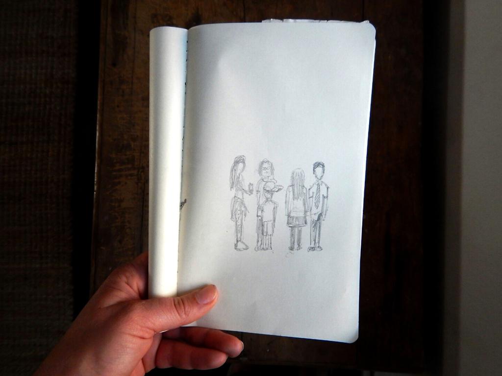 Felizme_Sketch_ChildrenofLondon