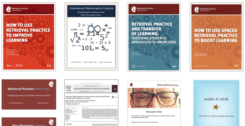 Want free downloads? We've got 'em! – Retrieval Practice