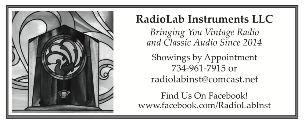 WCTH is SPONSORED BY Radiolab Instruments LLC