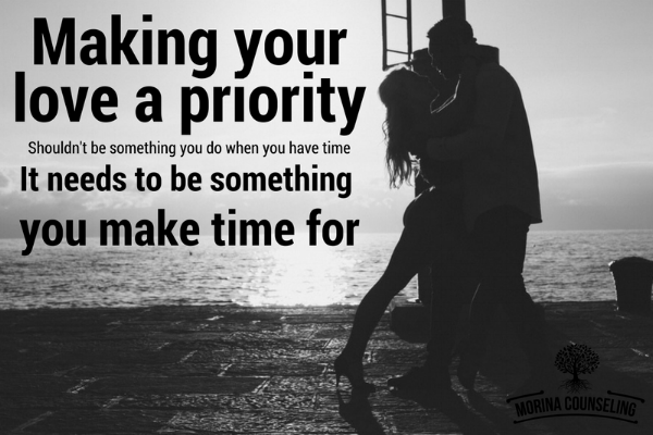 making dating a priority