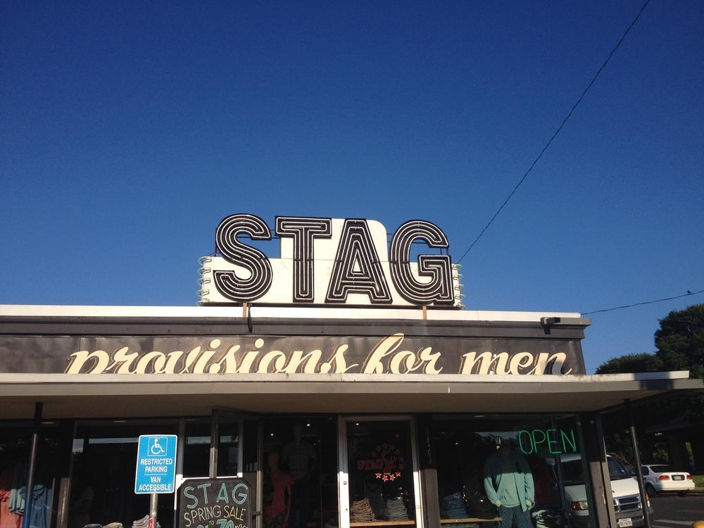 men's shop on South Congress.