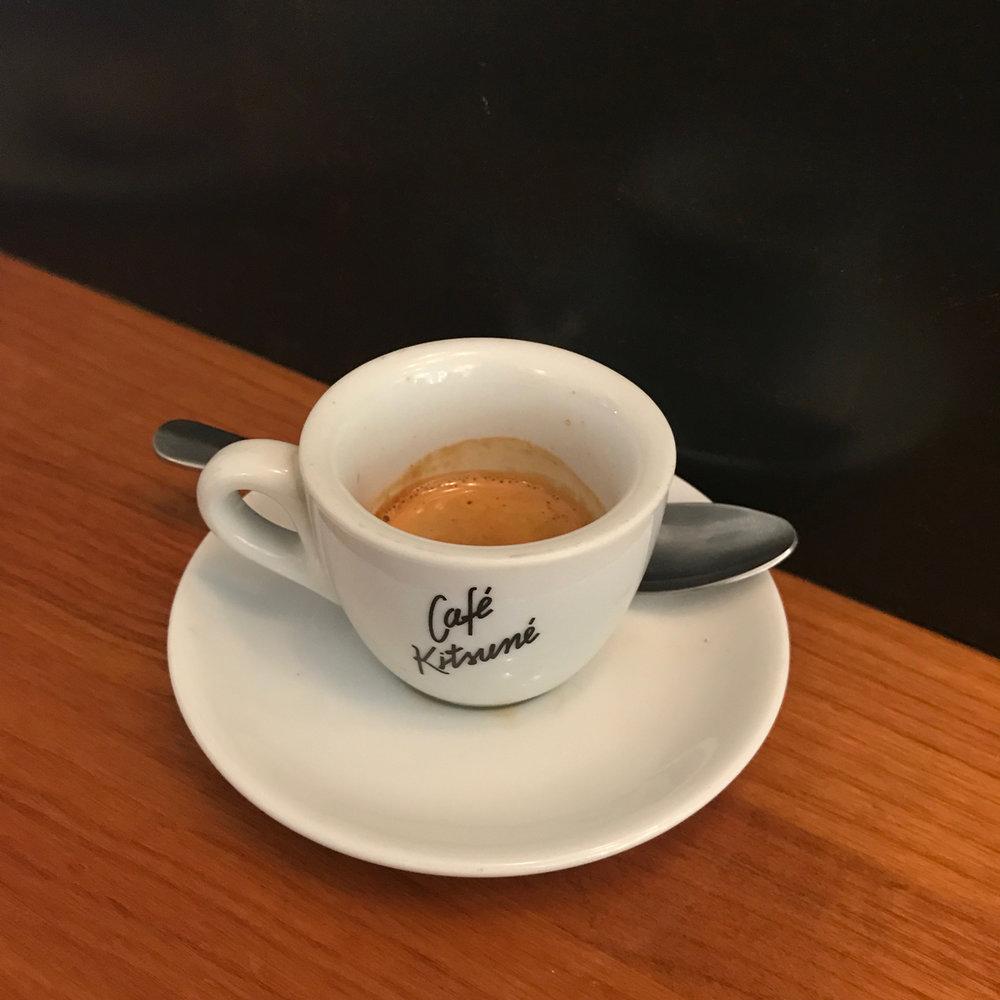 Un cafe s'il vous plait?