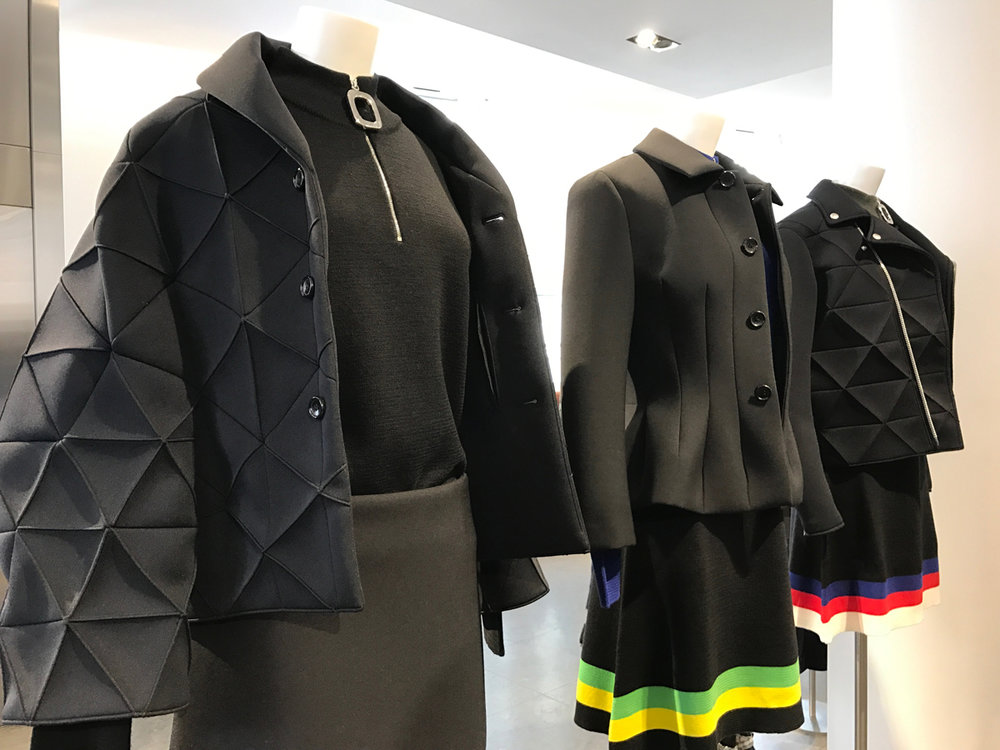 We checked out Colette, a fashion and design boutique which housed many fascinating products and clothing. I didn't catch the designer here but the garments were delicious looking!