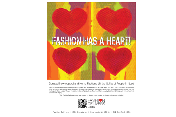 Fashion has a heart!