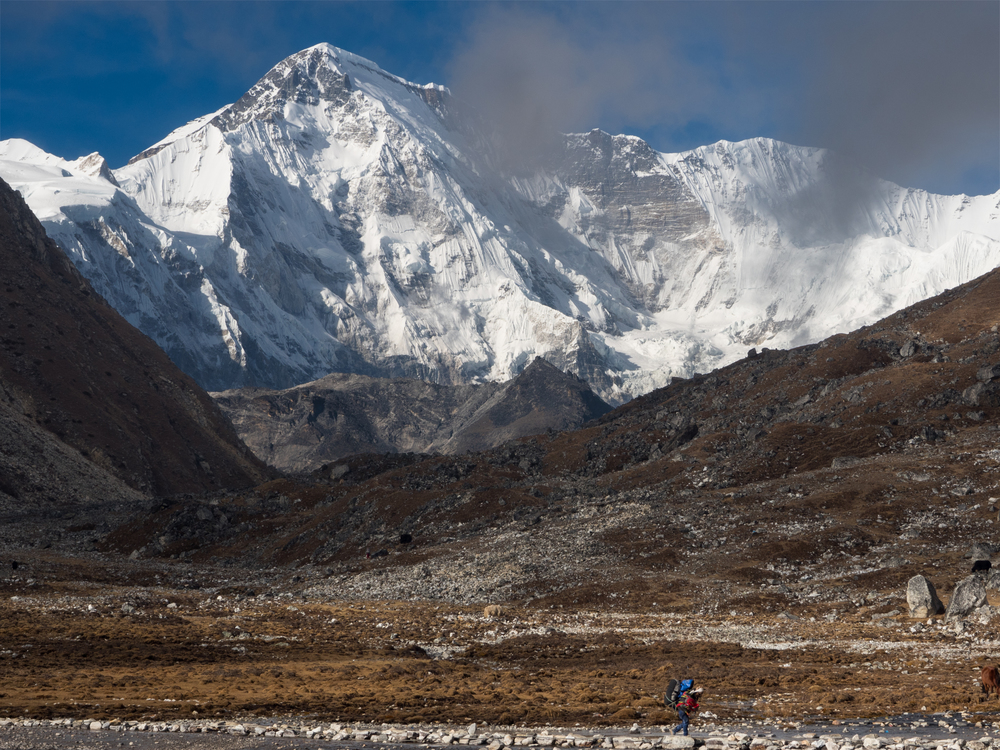 Walking Under Cho Oyu, 2015