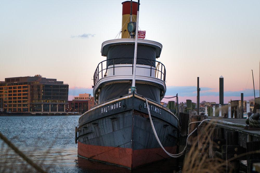 Docked Boat, 2017