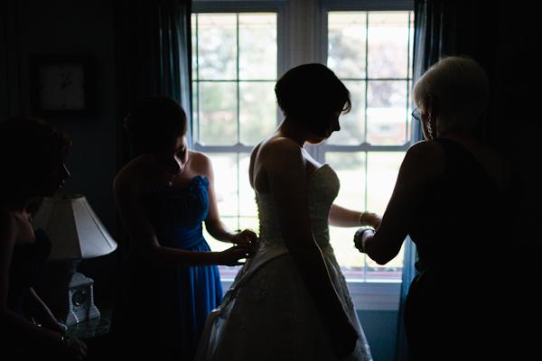 Bride Getting Ready in Newcastle Ontario