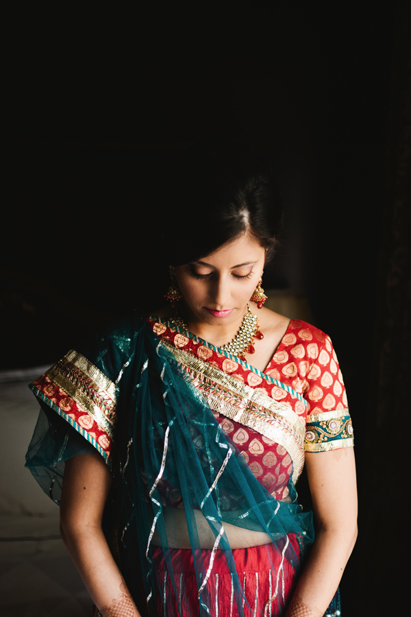 bridal portrait mississauga indian wedding photographer