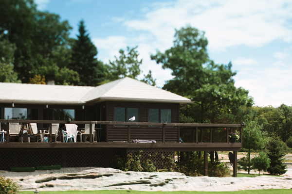 georgian bay cottage wedding photography