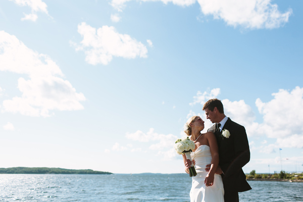 wedding photos on georgian bay