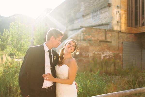 great lighting for Toronto wedding photos