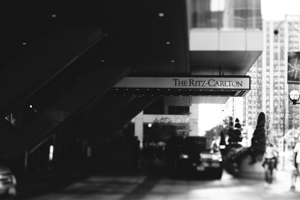 leaving the ritz carlton and heading to the berkely church