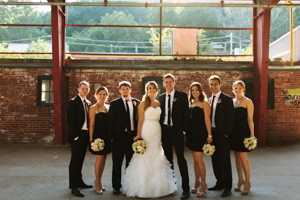 brickworks wedding party pictures