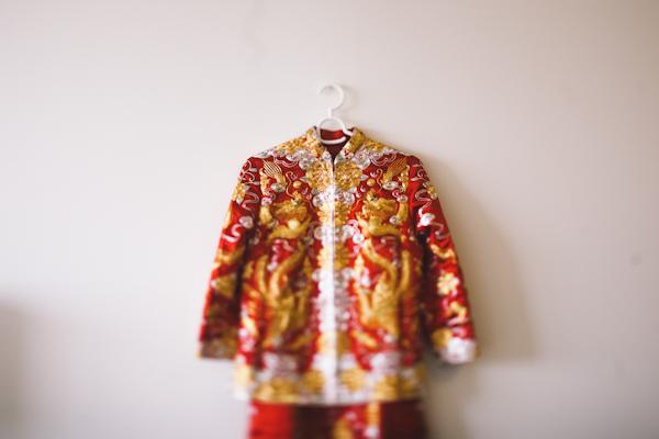 chinese wedding attire photo