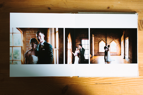 wedding album custom design by Taylor Roades