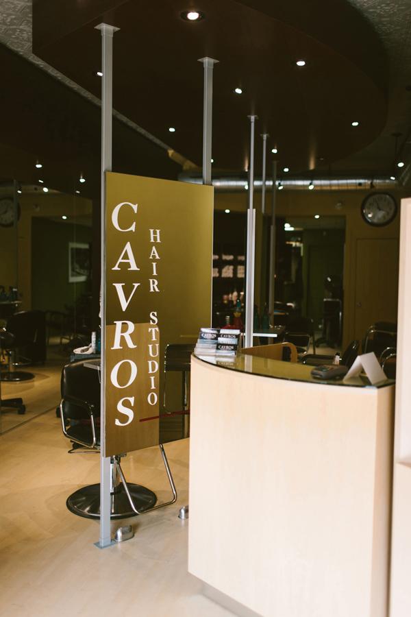 hair salon pre wedding photos.