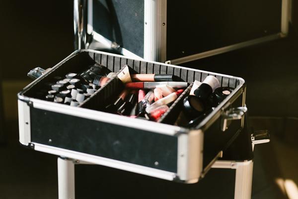 makeup done pre wedding ceremony in newmarket ontario.
