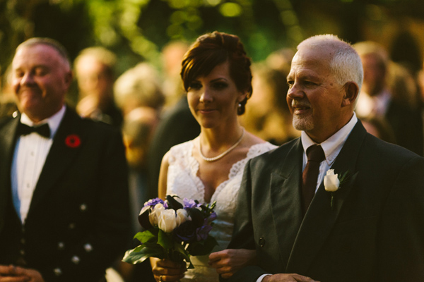 Joy marry's Andrew at Madsen's Gardens
