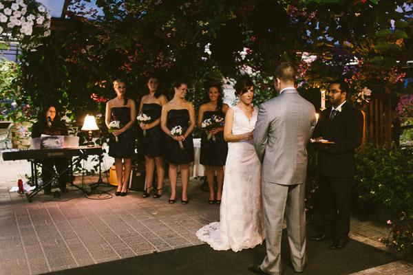 Greenhouse wedding venue in Newmarket Ontario
