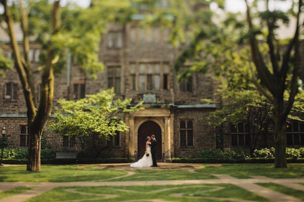 University of Toronto Wedding Portraits