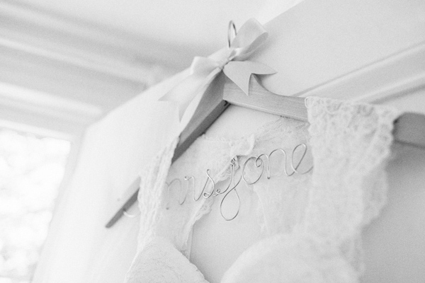 fancy wedding hangers