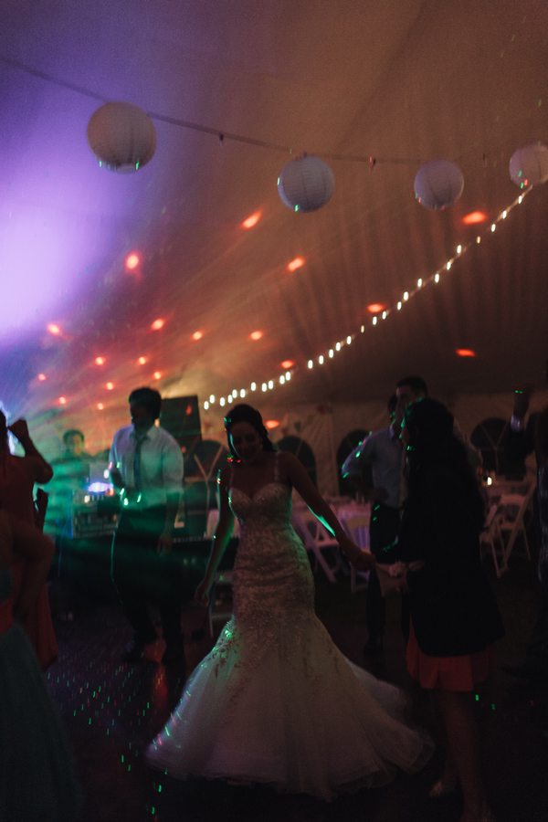 tent wedding reception photos