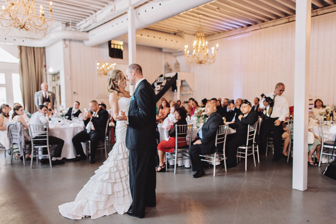 first dance at wedding reception by taylor roades
