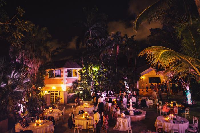 night time greycliff hotel wedding photo nassau bahamas
