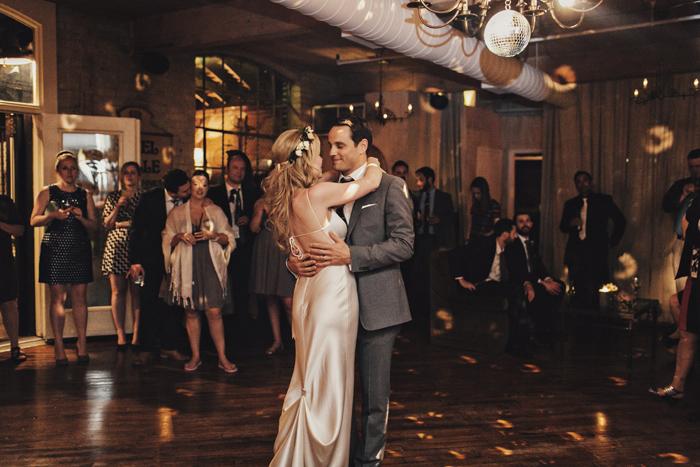 easy-on-fifth wedding dance