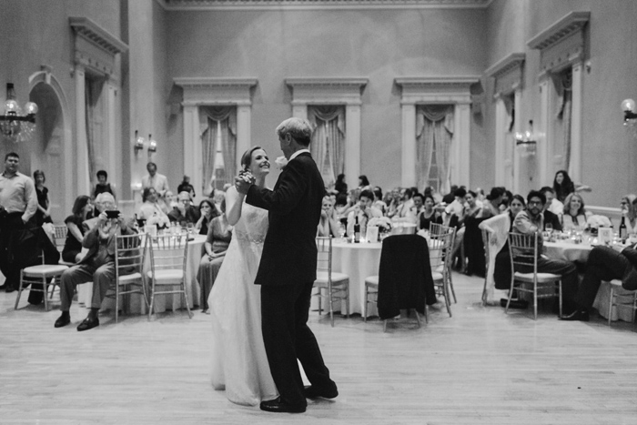 st lawrence hall father daughter wedding dance
