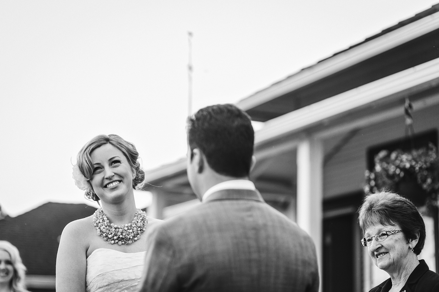 laughing bride, photojournalism style wedding photography