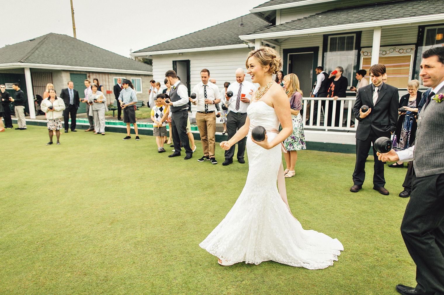 shannon getting married at the burnside lawn bowling club