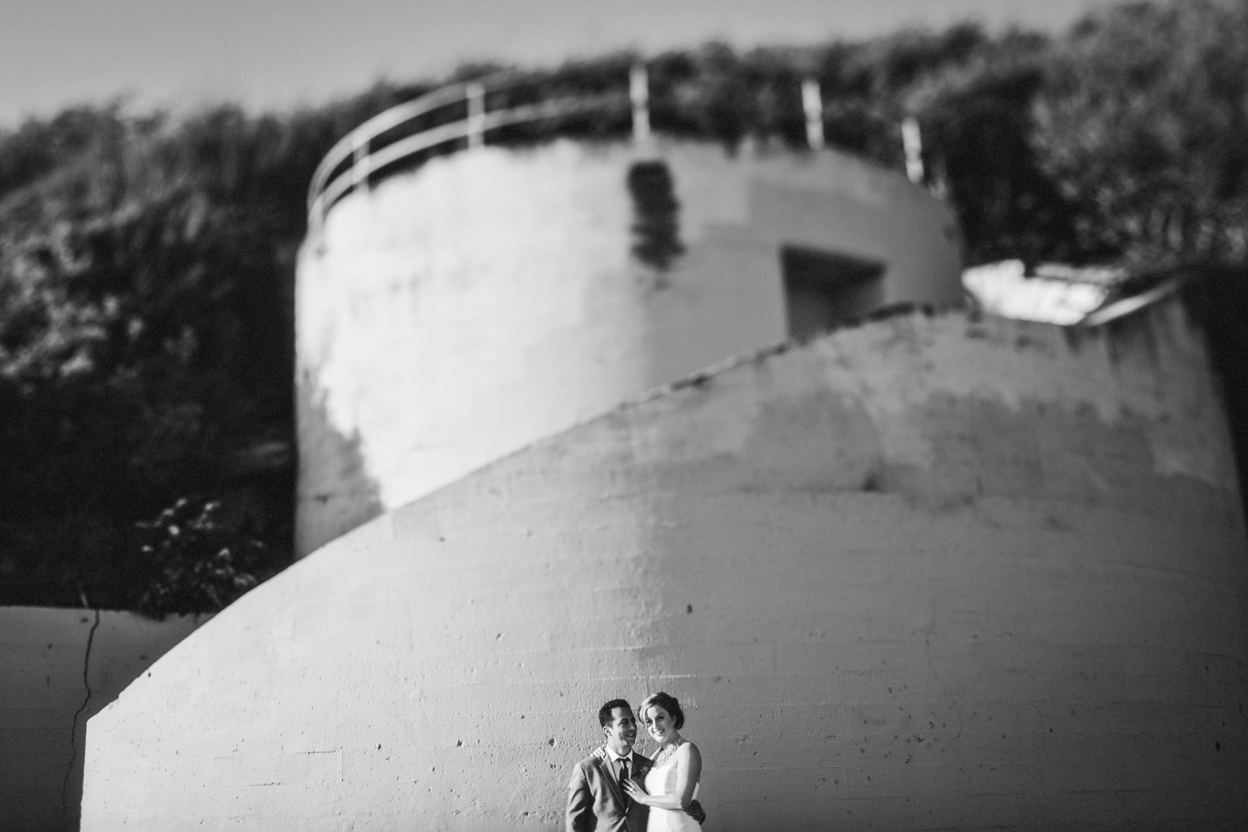 black and white wedding portrait near beacon hill