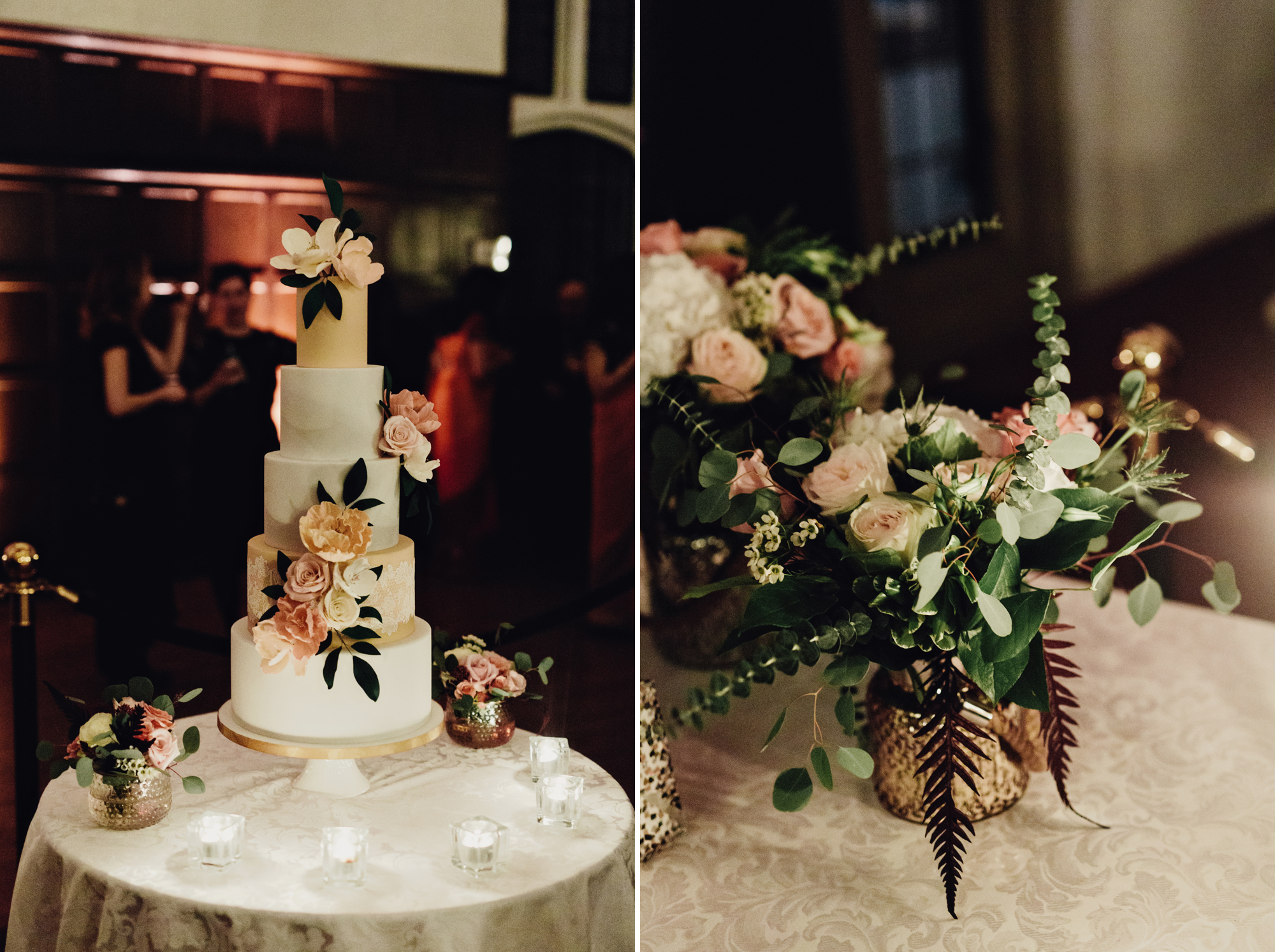 wedding cake at casa loma