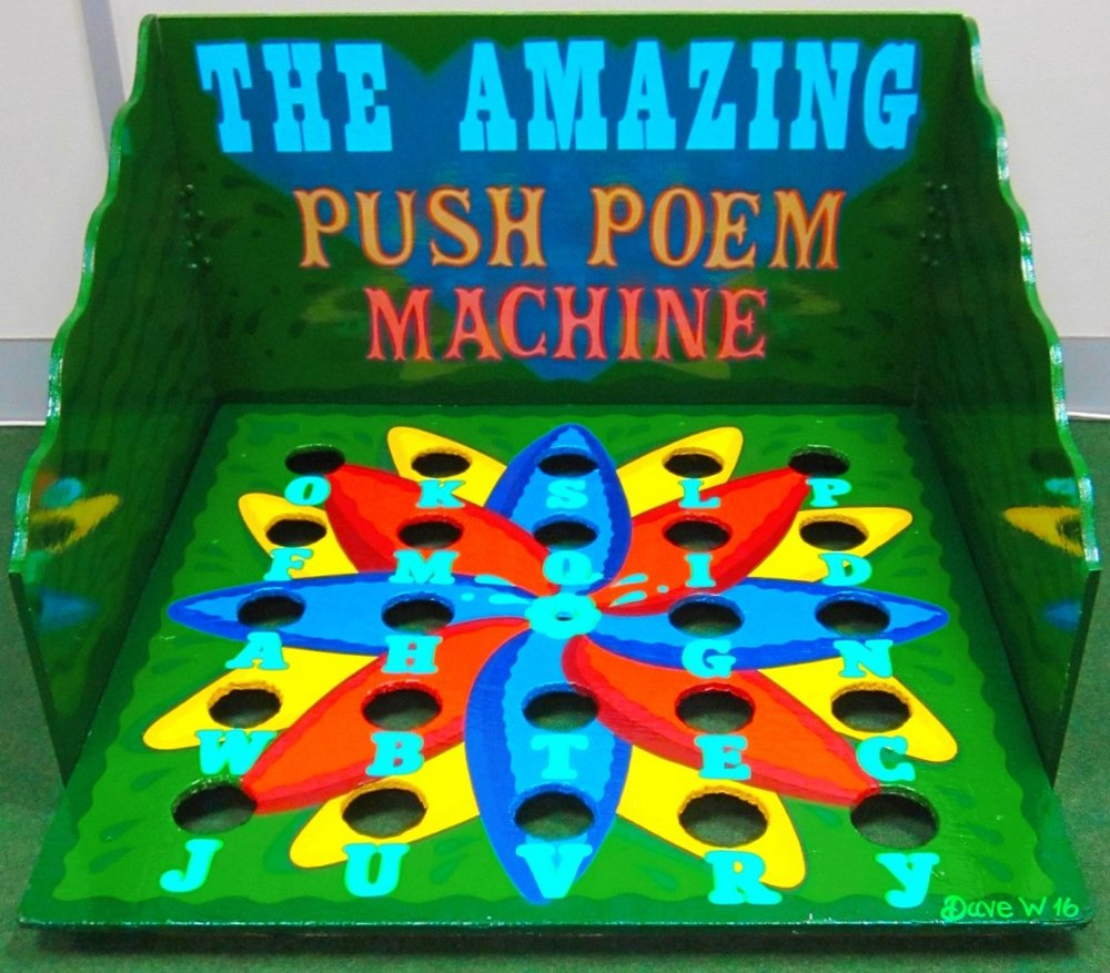 The Amazing Push Poem Machine