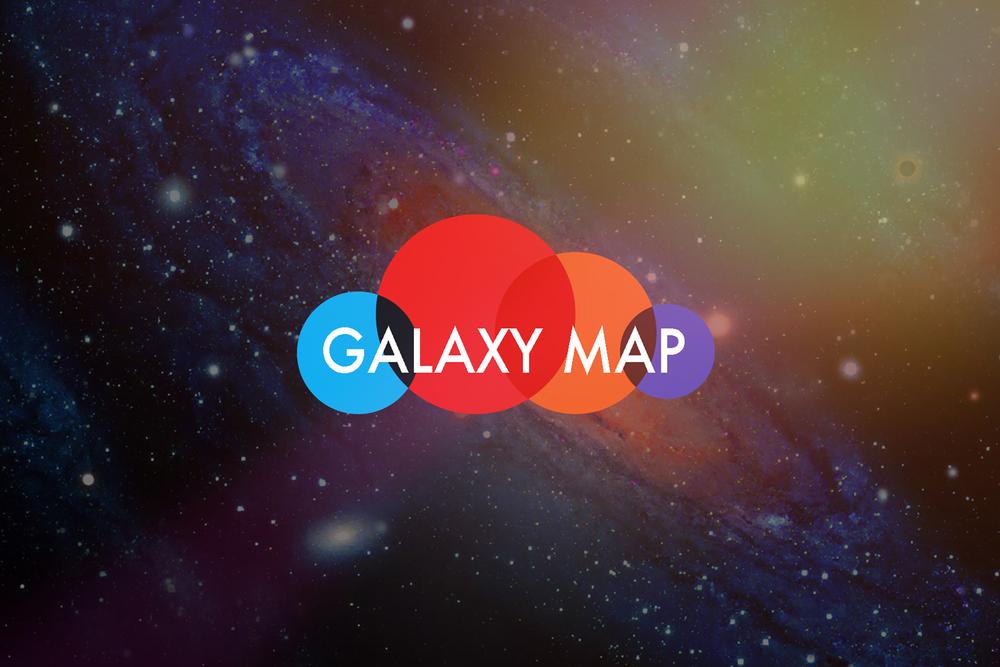 Galaxy Map | Logo Design | xx, JOHARA