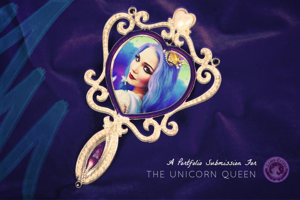 Lime Crime Mirror Design | Unicorn Queen | xoxo, JOHARA