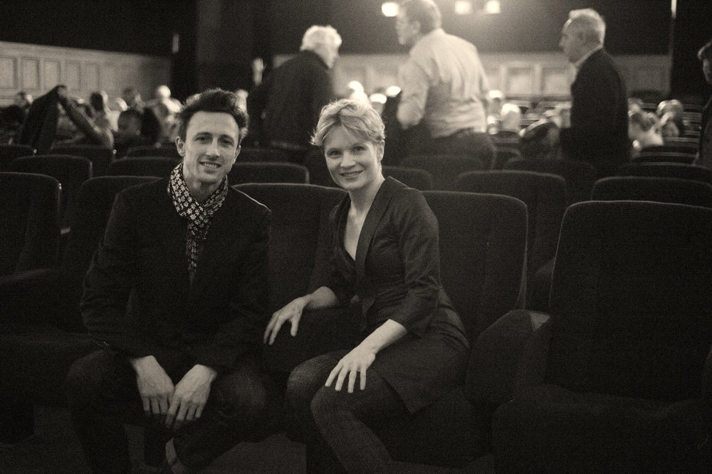 Anu Pennanen & Stéphane Querrec, filmmakers and visual artists.