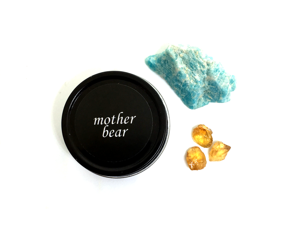 mother bear perfume balm