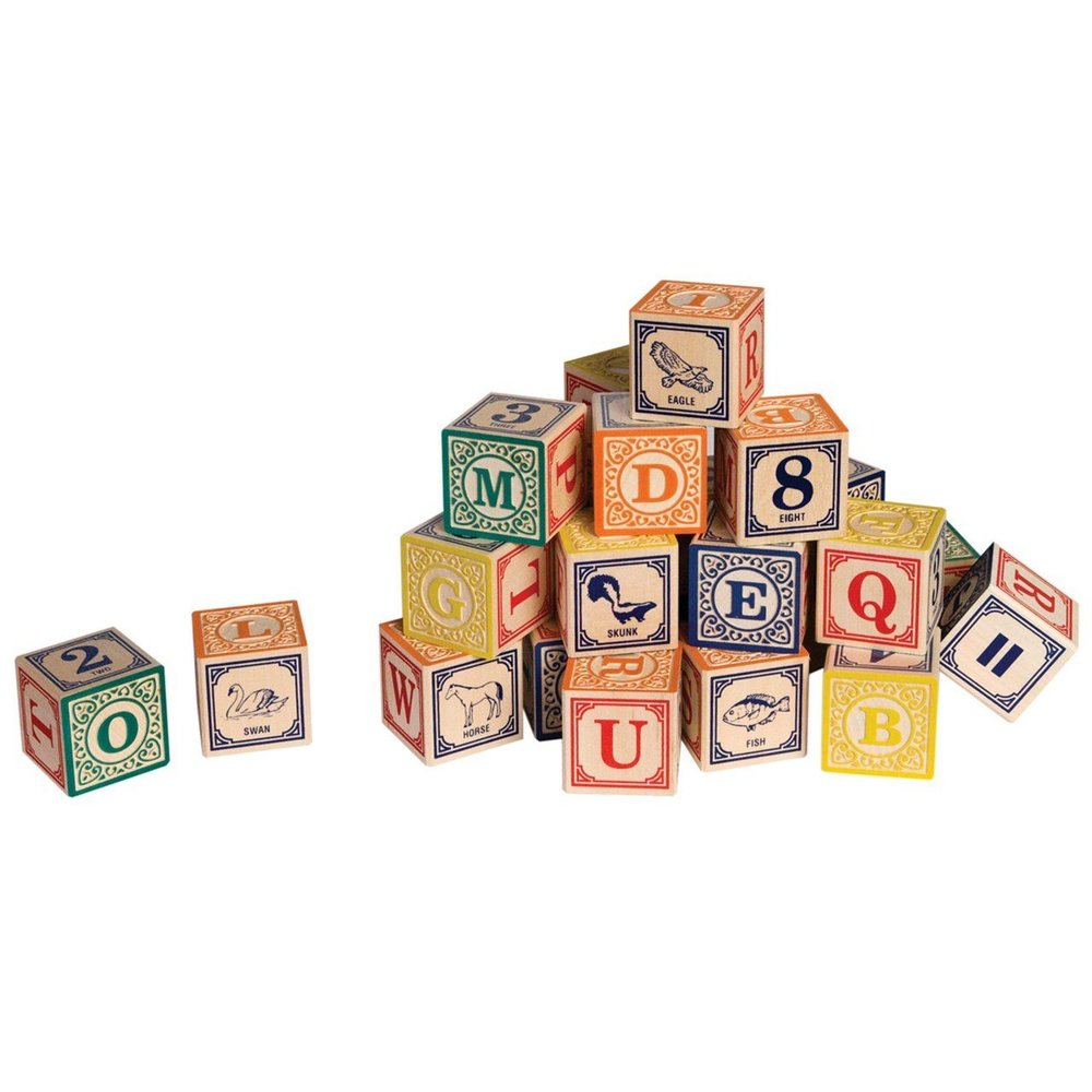 $38.49 Uncle Goose Classic ABC Blocks