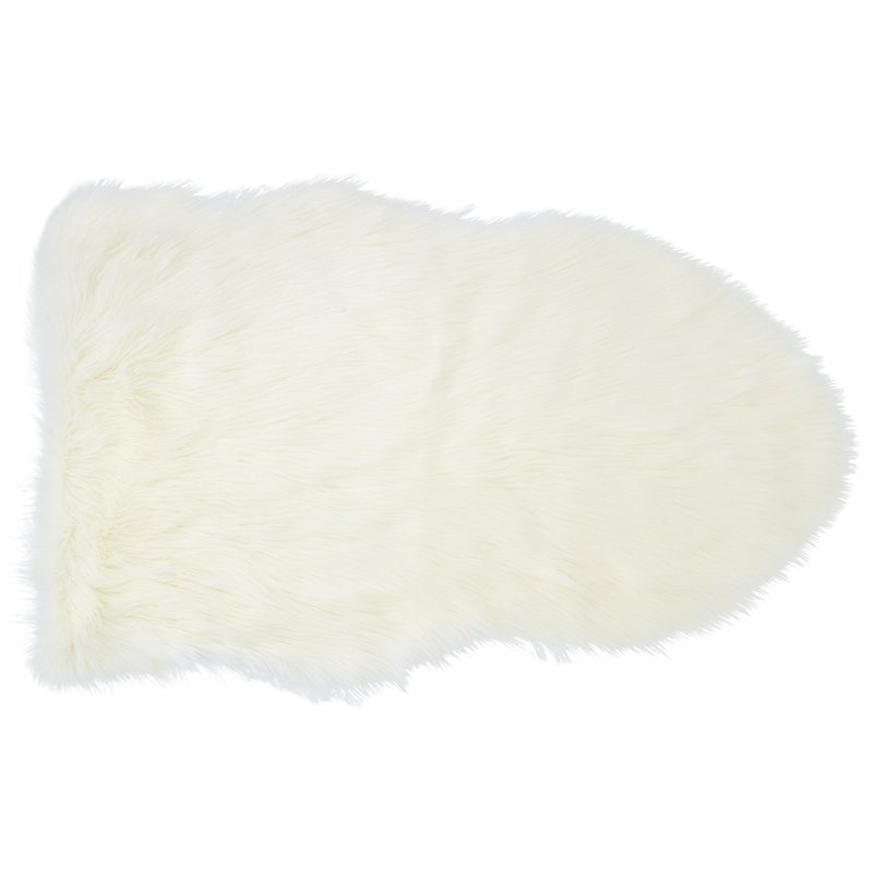 $69.50 CAD  Faux Sheepskin Chair Throw