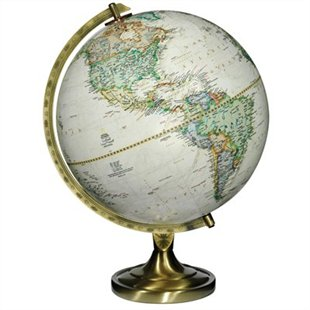 "$99.50 CAD 12"" Antique Globe"