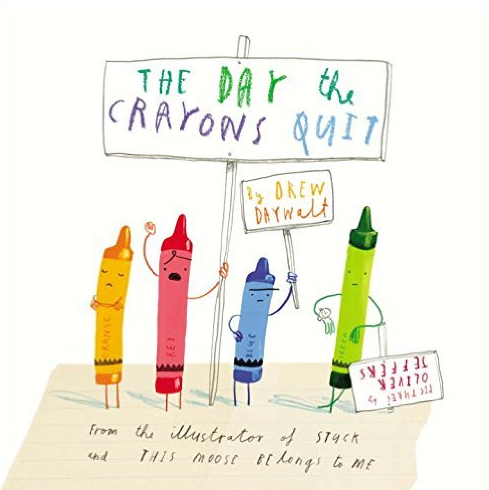 $17   The Day the Crayons Quit by Drew Daywalt