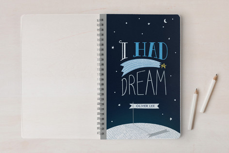 $16+   I Had A Dream Custom Notebook