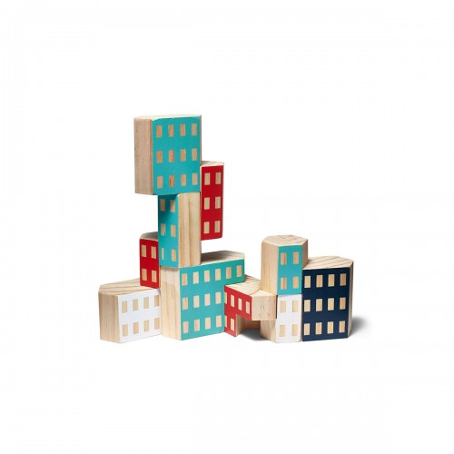 $25  Blockitecture Wooden Blocks